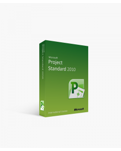 Microsoft Project 2010 Standard - International License