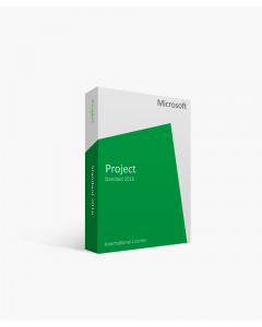 Microsoft Project Standard 2016 - 1 PC International License