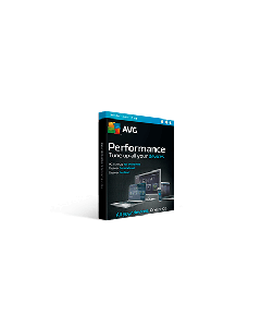 AVG Performance Tuneup & Clean 10 Device 1Yr Eng/Fr