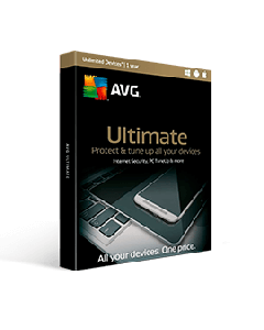 AVG Ultimate 2019 10 Devices Int. Security & Tuneup 1Yr Eng/Fr