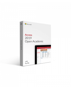 Microsoft Access 2019 Open Academic