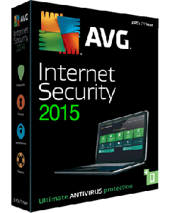 Avg Antivirus 2015 - 1year / 1pc