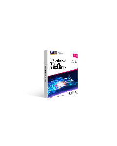 Bitdefender Total Security 3Device 1 year Retail - 2020 version - Global Except Germany - France- Poland