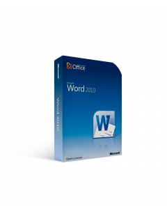 Microsoft Word 2010 Open License