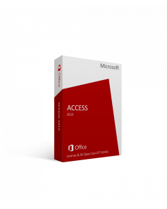 Microsoft Access 2013 License & SA Open Gov 077-02491