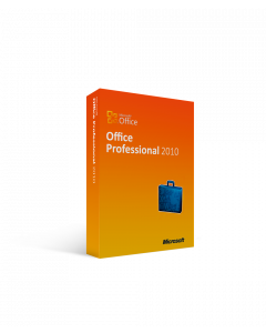 Microsoft Office 2010 Professional - 1 PC International License