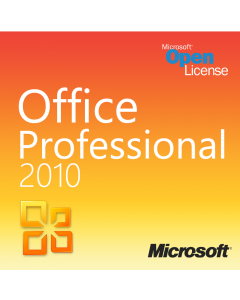 Microsoft Office 2010 Professional Plus Open License