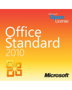 Microsoft Office 2010 Standard Open License
