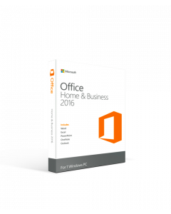 Microsoft Office 2016 Home and Business - 1 PC International License