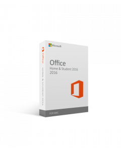 Microsoft Office for Mac Home & Student 2016 License