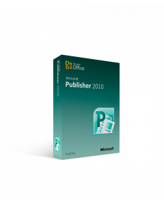 Microsoft Publisher 2010 - License