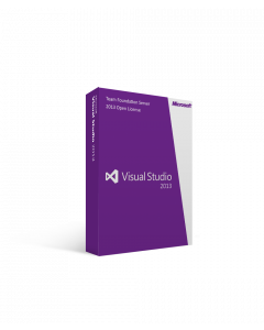 Microsoft Visual Studio Team Foundation Server 2013 Open License