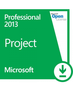 Microsoft Project 2013 Professional Open License