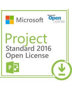 Microsoft Project 2016 Standard Open License
