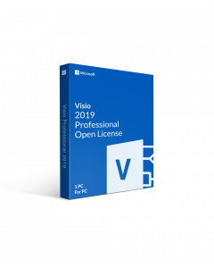 Microsoft Visio 2019 Professional Open License